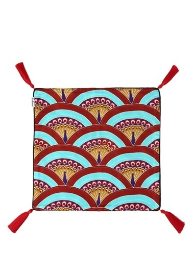 Les Ottomans Dekoratif Yastık Renkli
